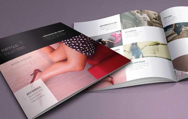 Mẫu catalogue thời trang đẳng cấp dành cho nữ giới