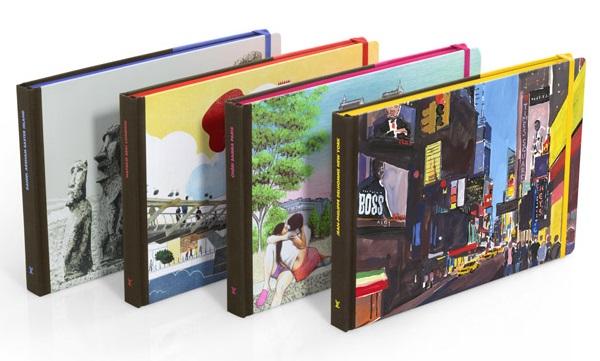 Mẫu catalogue du lịch dạng như cuốn sổ nhỏ bỏ túi có thể cầm theo bất cứ đâu