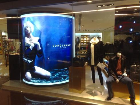Sản phẩm in backlit film giá rẻ ấn tượng cho hộp đèn quảng cáo trong cửa hàng