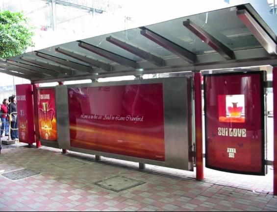 Sản phẩm in backlit film được sử dụng rộng rãi trong thị trường quảng cáo ngoài trời.