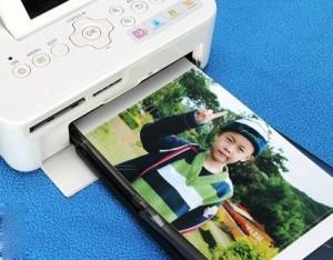 In giấy ảnh được thiết kế chỉ để chuyên in hình ảnh.