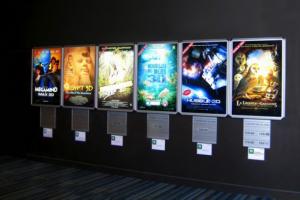 Mẫu in backlit film xuất hiện ở hầu hết các nơi công cộng