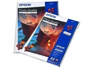 Giấy in ảnh a4 có vân thương hiệu EPSON nổi tiếng.
