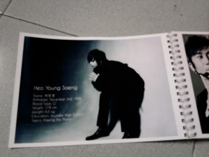 In giấy ảnh giá rẻ chất lượng cao rất thích hợp để làm album thần tượng mà bạn yêu thích.