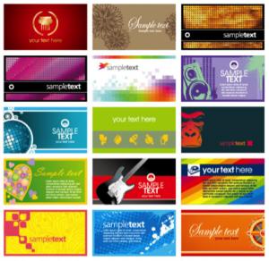 in name card 2015