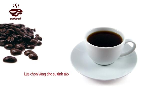 Poster giới thiệu sản phẩm cà phê