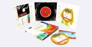 Mẫu in nhãn đĩa cd thường đồng bộ với thiết kế bìa đĩa cd.