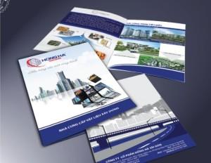Thiết kế in catalogue cho dịch vụ môi giới bất động sản