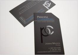 Ấn tượng ngay từ cái nhìn đầu tiên với mẫu in card visit chuyên nghiệp.