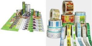Chất liệu in tem nhãn mỹ phẫm cũng không quá khác biệt với các sản phẩm khác.