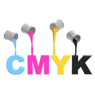Hệ màu CMYK trong công nghệ in offset đẹp.