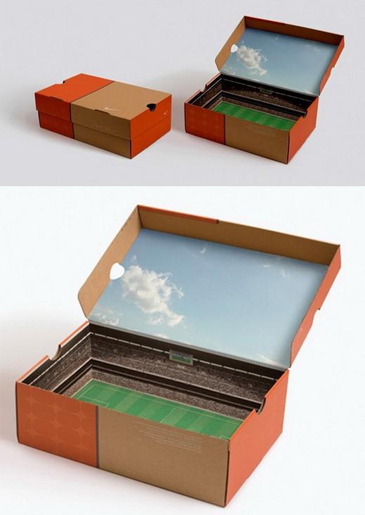 Hiển nhiên, đây là mẫu in hộp giấy đẹp đựng giày thể thao.