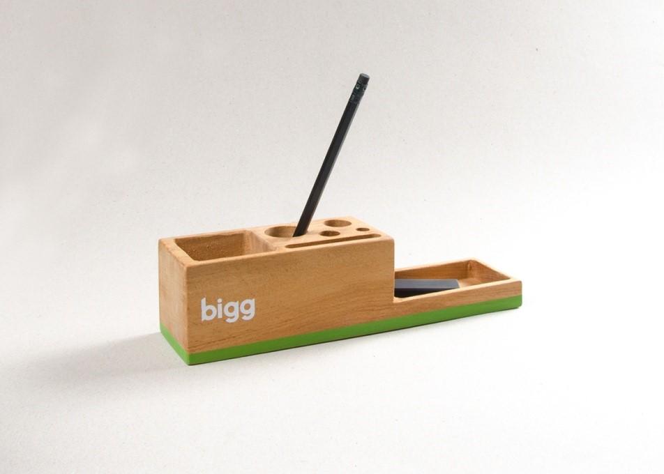 Nhắc đến Bigg là ta nghĩ ngay đến bộ nhận diện thương hiệu độc đáo.