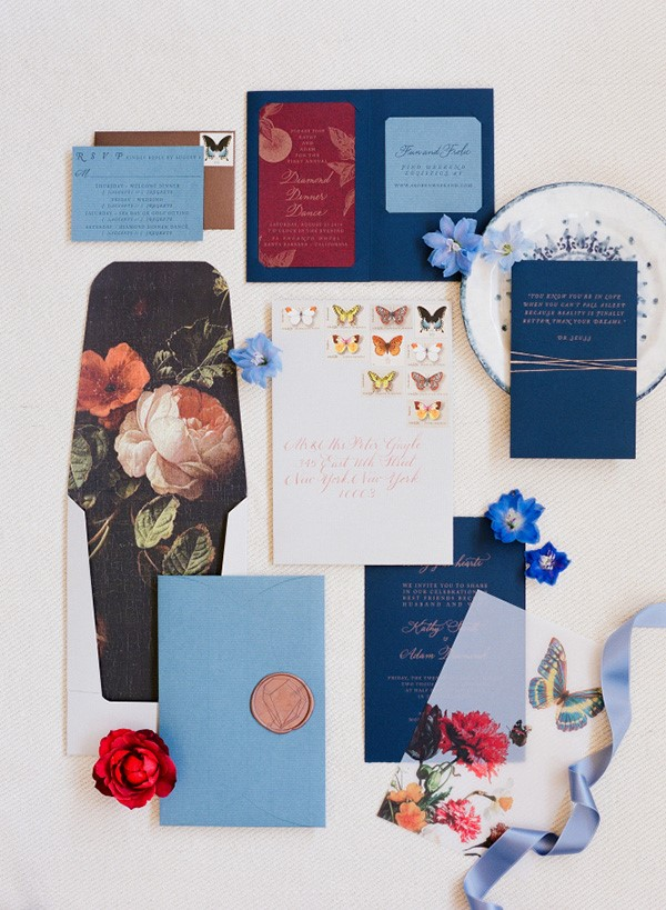 Tông màu ngọc (Jewel Tones Colors) là lựa chọn hoàn hảo cho mùa cưới thu đông.