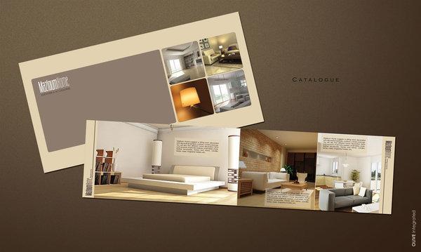 Mẫu catalogue nội thất